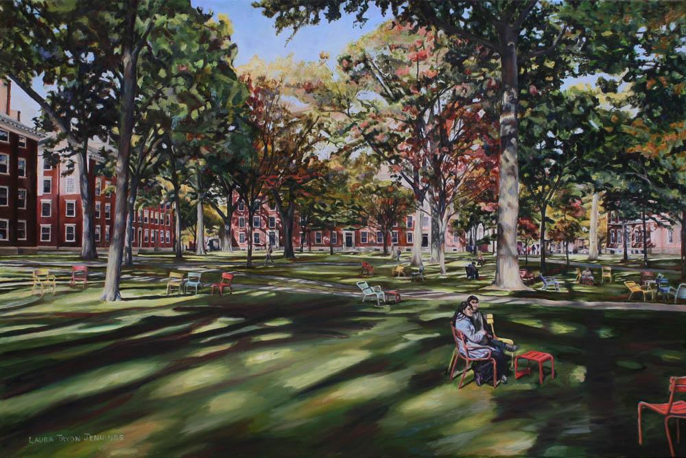 Harvard Yard Sojourn